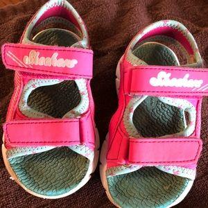 Sketchers Sandals Size Toddler 7